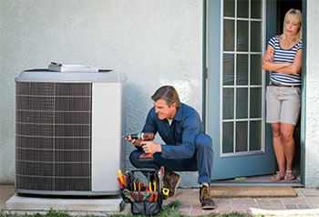 an HVAC Repair Technician