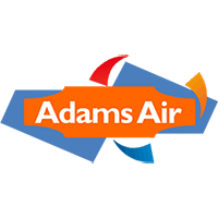 The Adams Air Conditioning Logo