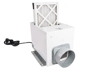 A Supply Ventilation System With A Dedicated Fan and Filter