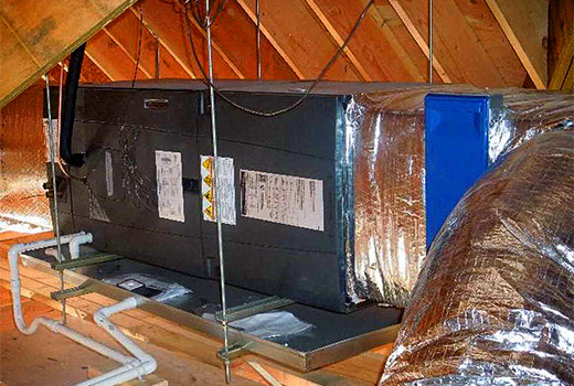A new American Standard Air Handler