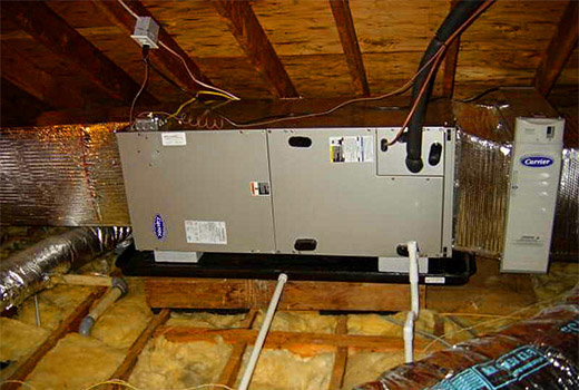 A new Carrier HVAC system